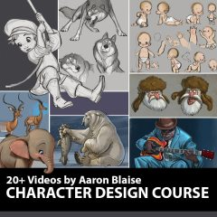 Character Design Course by Aaron Blaise
