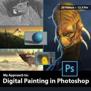 Digital Painting in Photoshop