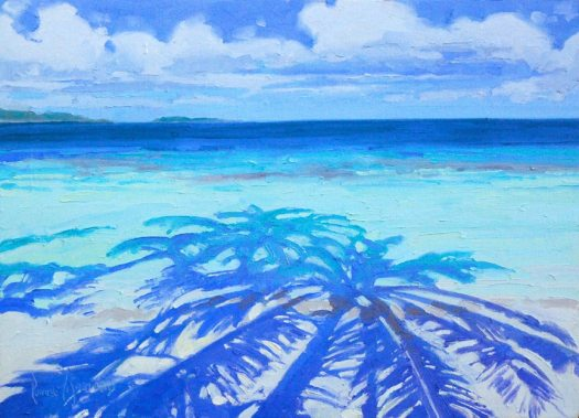 ocean plain air painting tutorials Ronnie Williford