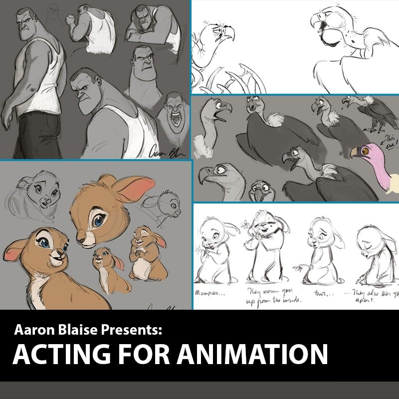 acting for animation course with aaron blaise animation lessons
