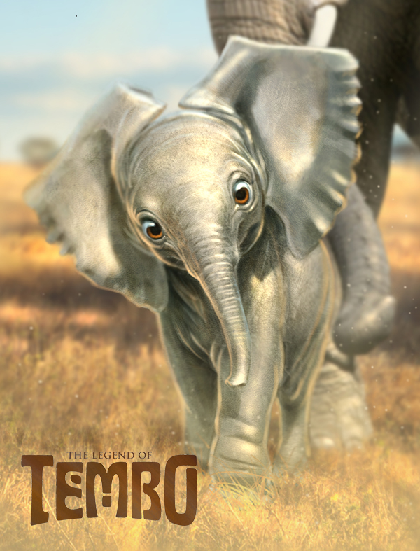 Legend of Tembo Pencil Test - The Art of Aaron Blaise