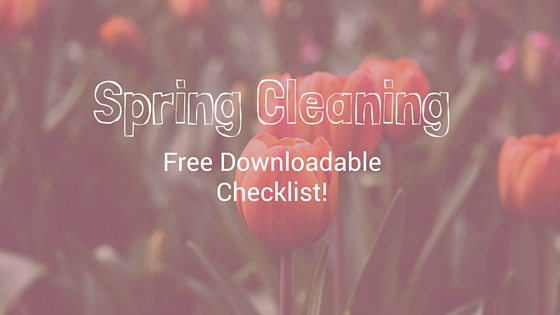 FREE Spring Clean Checklist- Every Home Owner Should Have!