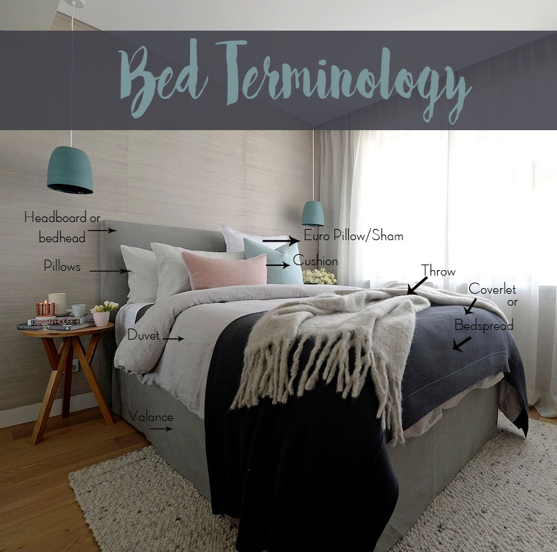 How To Style A Bed – Your Ultimate Bedroom Terminology Guide