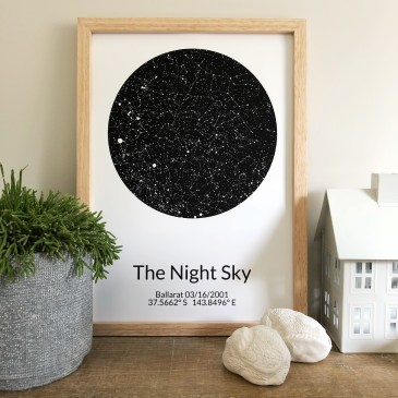 The Night Sky Map That Saved An Anniversary!