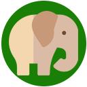 Asian elephant point