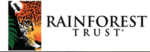 Rainforest Trust logo Indri Lemur Facts