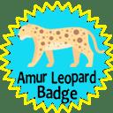 Amur Leopard Badge