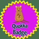 Quokka Badge