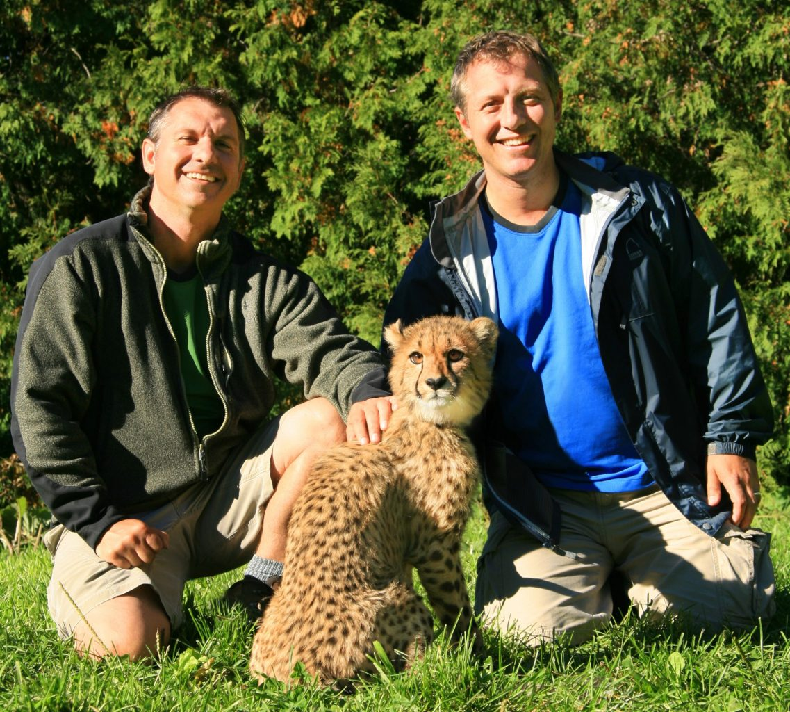 Kratt Brothers with Cheetah