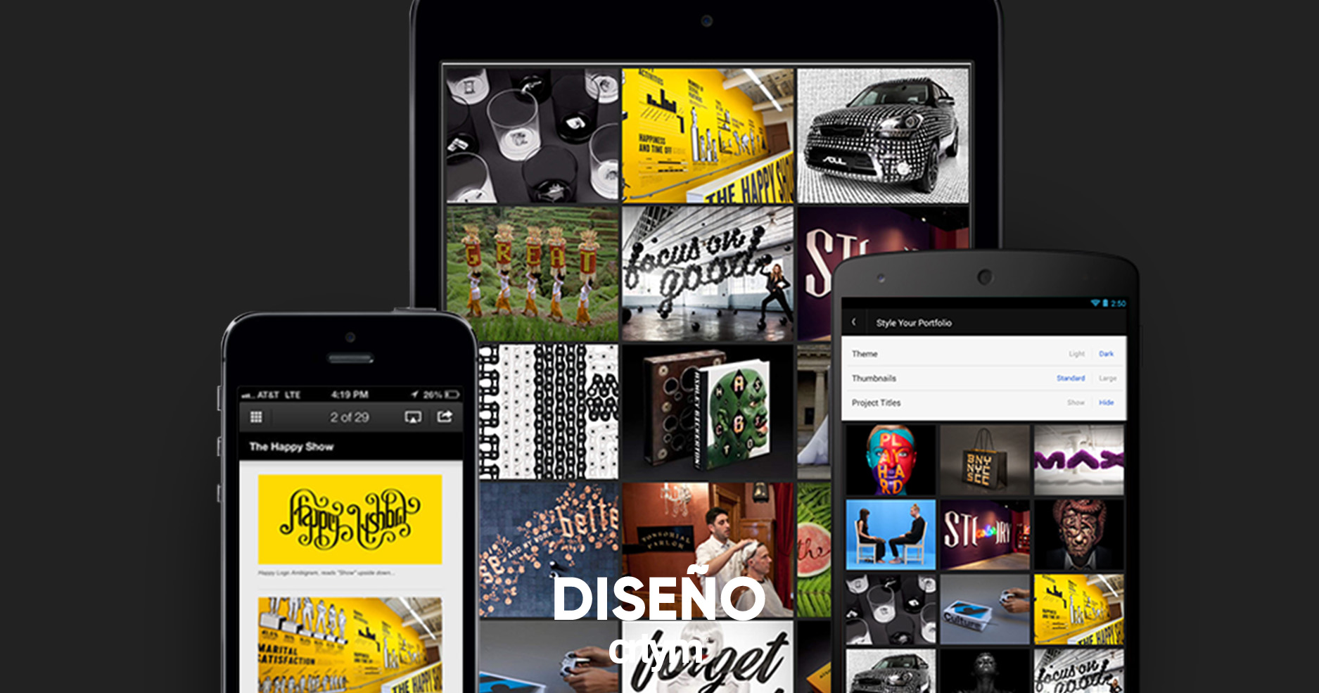 Behance Display, tu portafolio móvil