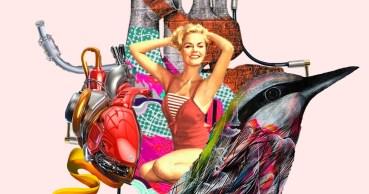 Rodrigo Vides: woman urban collages