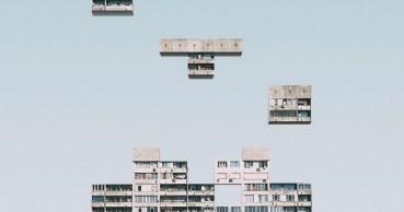 Urban tetris por Mariyan Atanasov