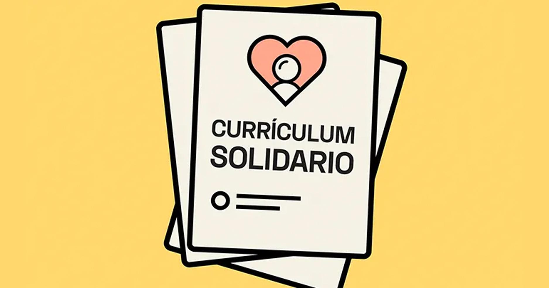Currículum Solidario: diseño de CV gratis