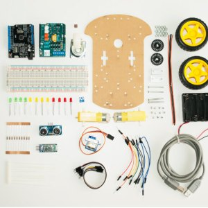 componentes electronicos robot explorador
