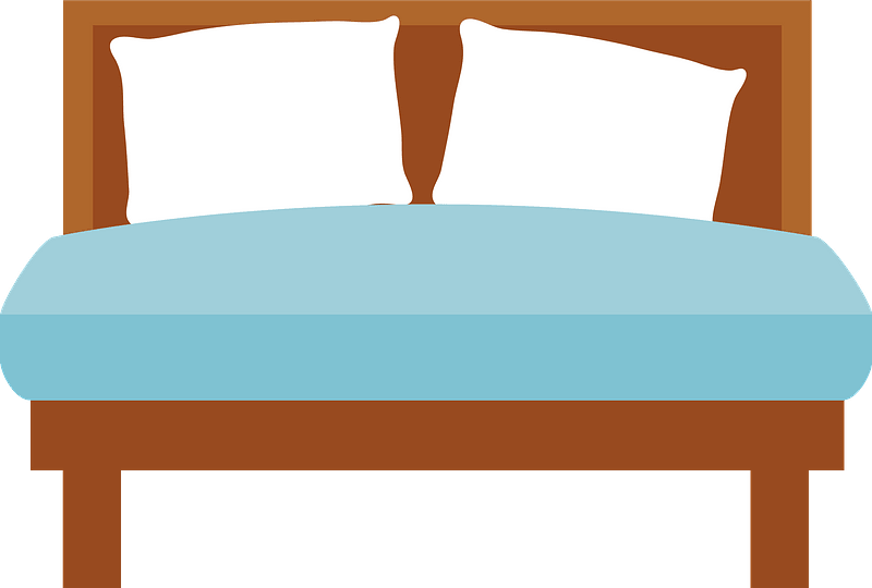 double bed clipart free download