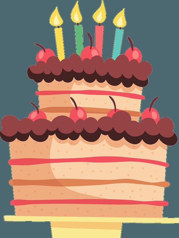Birthday Cake Clipart Free Download Transparent Png Creazilla