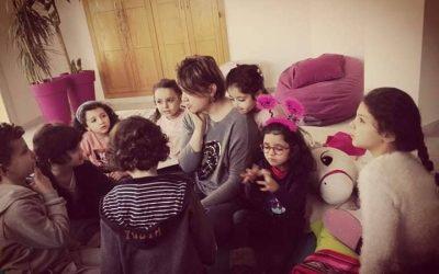 COIN TIPI, le beau, les mots…un projet pédagogique unique en Tunisie!