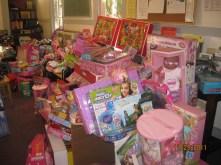 Distribucion de juguetes 2011