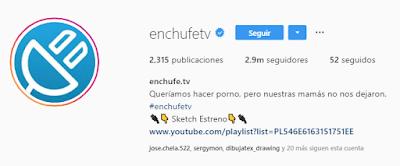biografía en Instagram