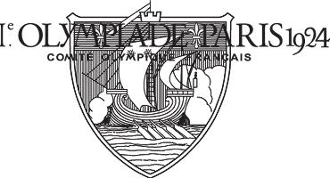 Logo Juegos Olímpicos de París, 1924
