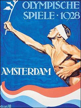 Cartel de los Juegos Olímpicos de Ámsterdam, 1928