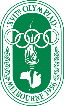 Logo de los Juegos Olímpicos de Melbourne, 1956