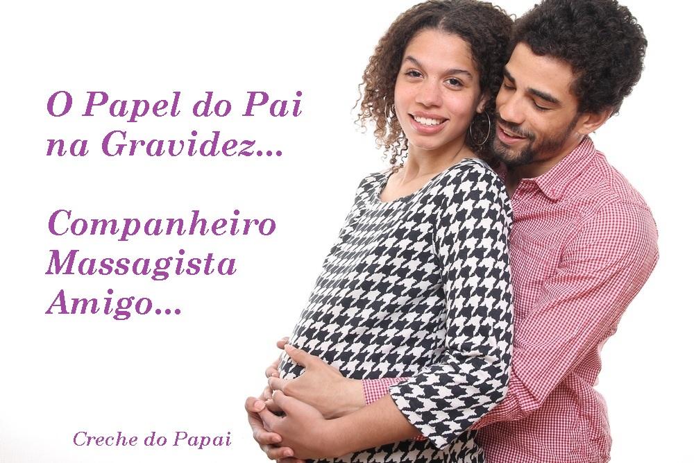 O papel do Pai na gravidez - creche do papai