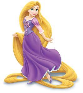 Rapunzel jogue os seus cabelos