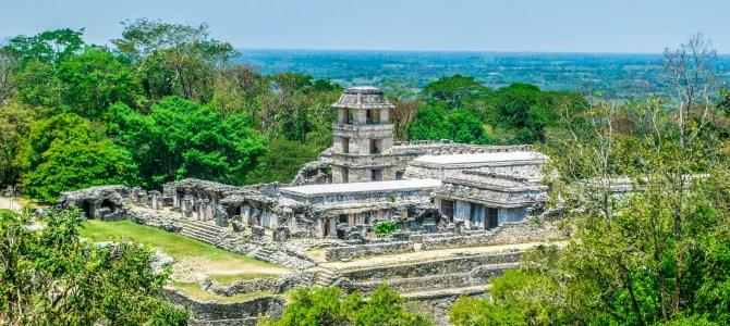 Zona Arqueológica de Palenque, México