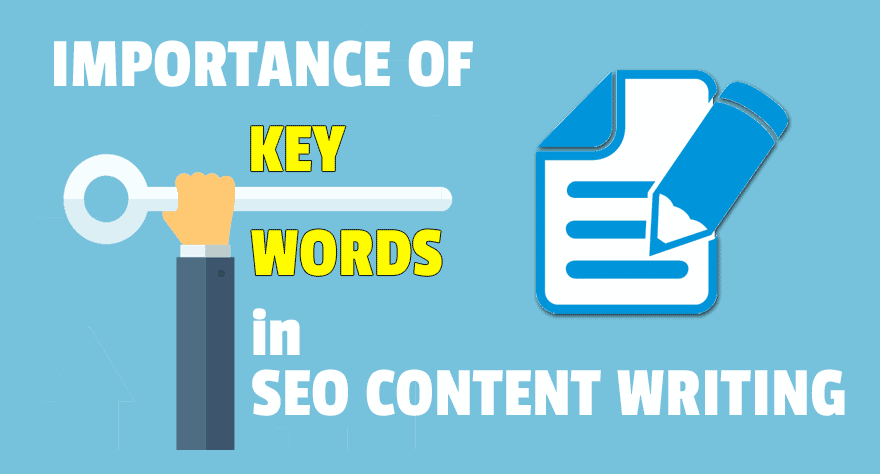 SEO content writing and the importance of keywords