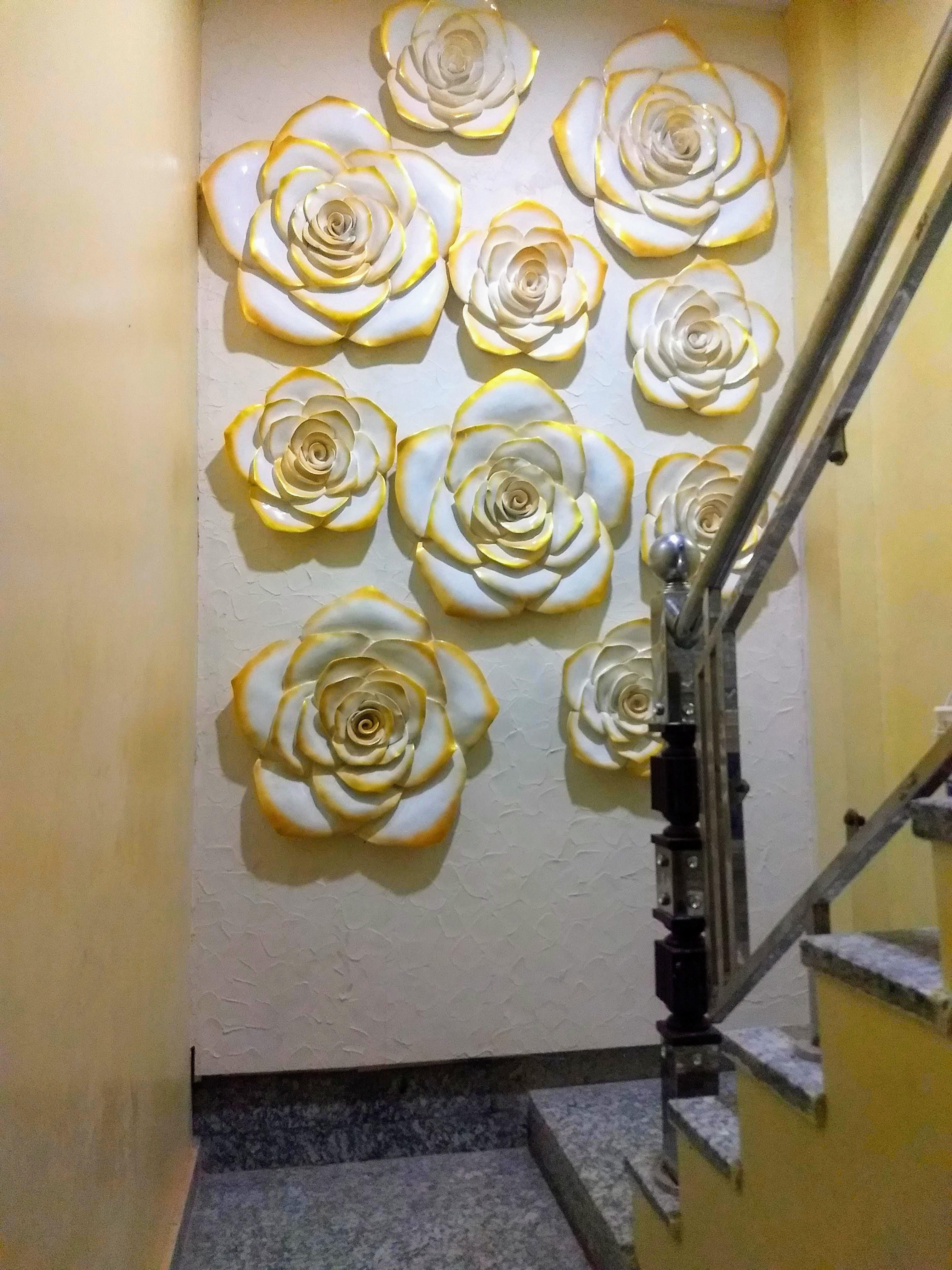 3D Wall fiberglass mural