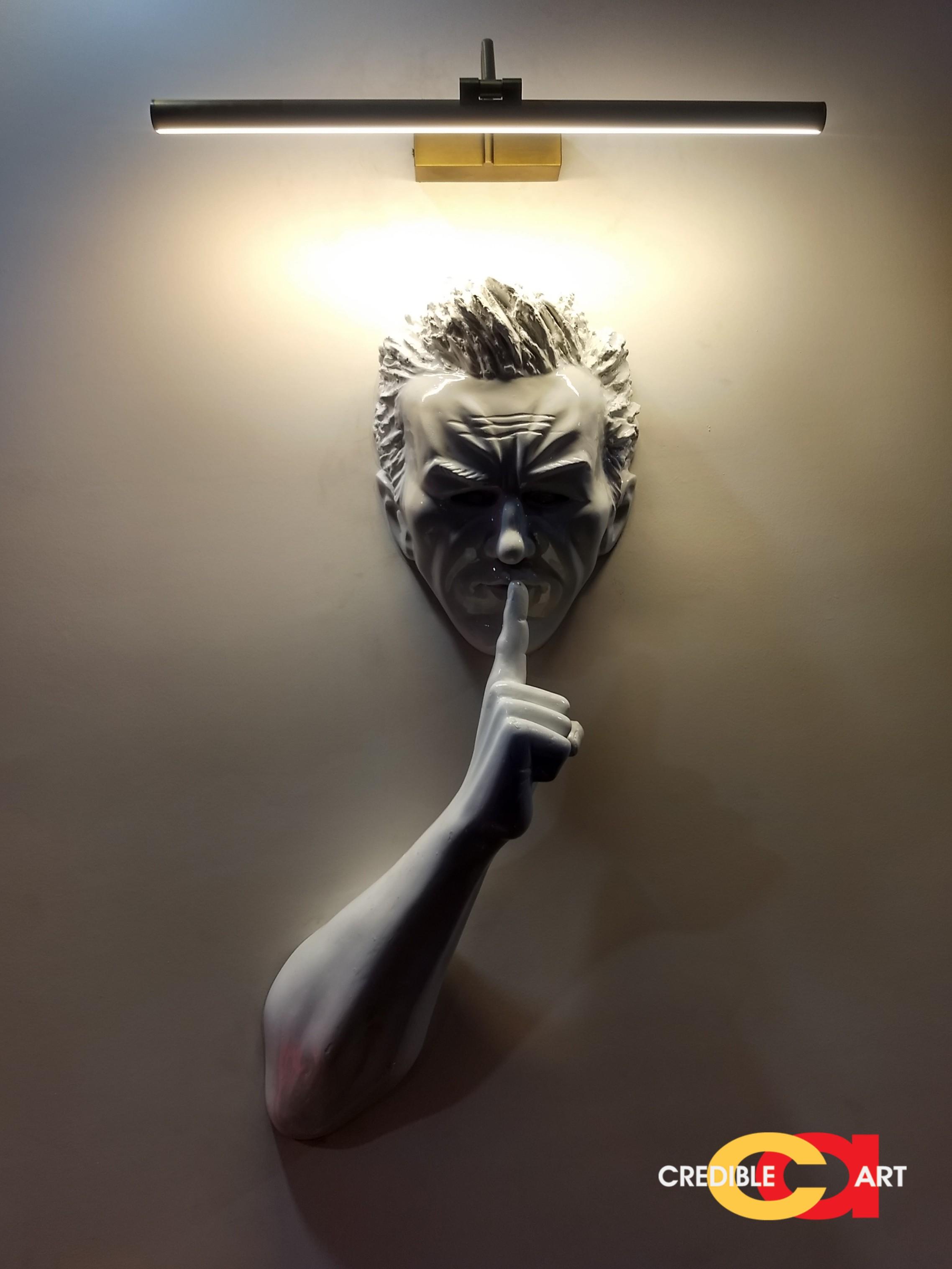 Wall 4D sculpture