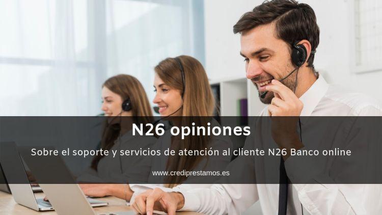 Atencion al cliente N26