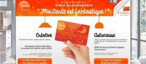 carte mandarine cofinoga