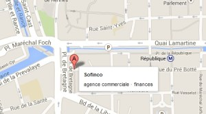 sofinco agence rennes plan
