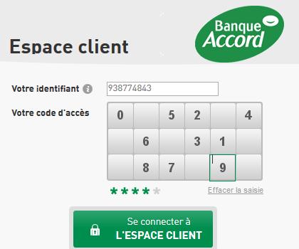 espace client carte accord auchan