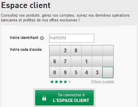 connexion espace client banque accord