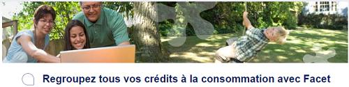 rachat de crédit Facet
