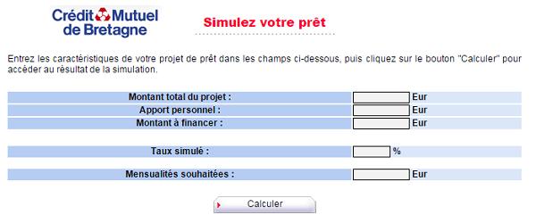 simulation pret cmb