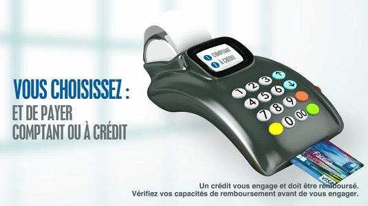 paiement à crédit carte facelia