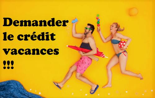 crédit vacances en famille