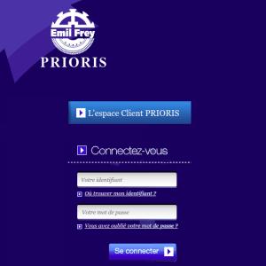 espace client Prioris