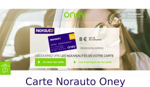 carte norauto oney