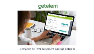 Demande de remboursement anticipé Cetelem