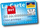 carte de credit but aurore