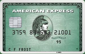 American Express Green aanvragen