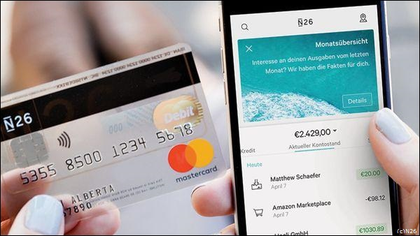 prepaid creditcard 2018 N26 MasterCard Debit (c)N26 16x9 kader