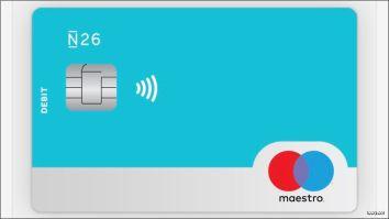 gratis bankrekening N26 Maestro cca-co