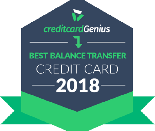 Best Balance Transfer Credit Card For 2018 Award Seal