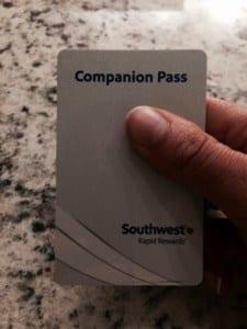 My Southwest Companion Pass
